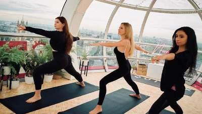 Новий спосіб розслабитися: йога на висоті 135 метрів