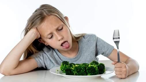 Чому діти не люблять їсти броколі та цвітну капусту